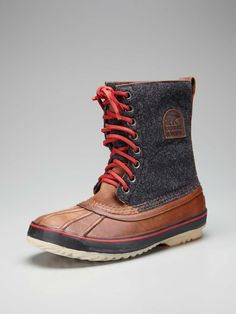 finally . . . a boot that looks good & that will keep your feet dry.