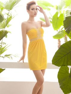 f75c231041c2 ... WholesaleFashion wholesale women sexy evening club dresses · Sexy Style  Strapless Beading Solid Color Occasion Dress--Click on the picture to check