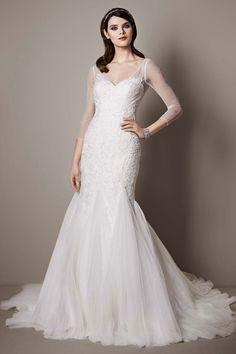 Wedding gown by Galina Signature at David's Bridal