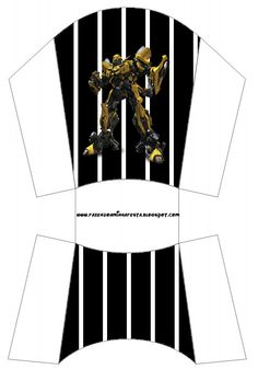 Transformers: Free Printable Boxes.