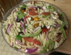 "Perfect Pasta Salad: ""This pasta salad is INCREDIBLE! It's beautifully colorful and has a very refreshing taste. The dressing is nice and zesty."" -ratherbeswimmin'"