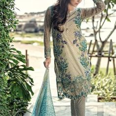 Maria B Summer Lawn Dresses Vol-1 2016 Collection 24