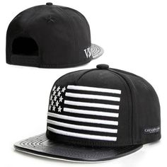 880a23b6710 2015 new fashion black leather snapback caps baseball hats for men women  sport