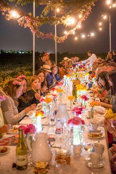 #FieldtoVase dinners coast to coast