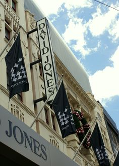 David Jones, Melbourne - rival with Meyer department store Melbourne Victoria, Victoria Australia, Federation Of Australia, Melbourne Shopping, David Jones, Department Store, Capital City, Retail Therapy, Australia Travel