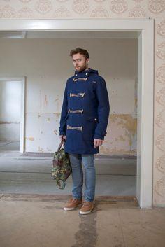 freshlabels have a look book / I Duffle Coat, Everyday Dresses, Dandy, Vest Jacket, Men's Style, Dapper, Ivy, Vests, Must Haves