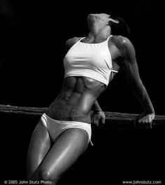 Look at those ABS!! Maggie Diubaldo