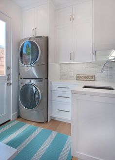 White cabinets and layout