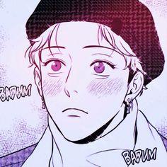 Manga Anime, Haikyuu Manga, Manhwa Manga, Anime Boys, Aesthetic Lockscreens, Otaku, Handsome Anime Guys, Manga Characters, Fujoshi
