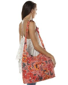 BILLABONG DESERT BLOOM BAG - BIKINI RED