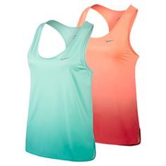 Stand out from the crowd with the #Nike Women's Gradient Tennis Tank. Its cut-out racerback construction provides maximum range of motion and support. Dri-FIT fabric absorbs sweat. Get it here >> http://www.tennisexpress.com/nike-womens-gradient-tank-44217 #TennisExpress