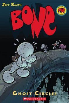 Ghost Circles (Bone, Book 7) by Jeff Smith http://www.amazon.com/dp/0439706343/ref=cm_sw_r_pi_dp_wjs5tb19Z4B5Q