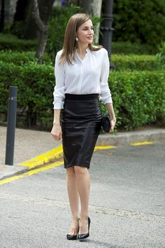 Queen Letizia Of Spain Style File - Image 6