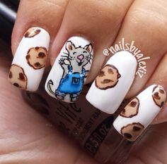 Well this is precious, but we want to see OUR characters immortalized on your nails.  THE CHALLENGE: Paint your nails, snap a picture, post it on facebook or twitter by 2/12/14, and we'll send you a FREE COPY of the book you painted. Happy nail-arting! #nailart #giveaway #peachtreepub (Thanks for the idea HarperCollins Children's Books!)