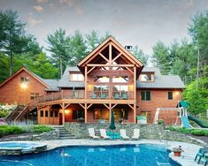 mountain home. With a pool?!