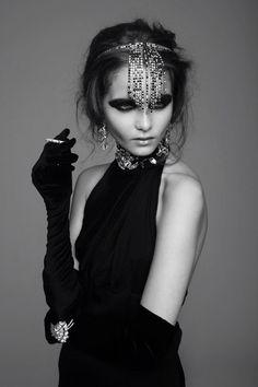 inspiration for Garbo Halloween costume?