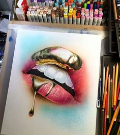 This drawing by cdeakes_art is magical! Reference photo shot by juliakuzmenko…