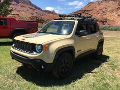 New Release Jeep Renegade 2.4 Trailhawk Review Front Side View Model