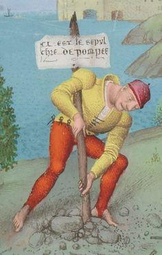 1° « Les Croniques que OROSIUS compila... »; 2° « Les anciennes Histoires des Romains » Date d'édition : 1401-1500 Français 64 Folio 382r