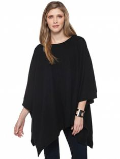 Can never have too many comf ponchos! Cashmere Two Way Poncho
