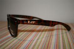 monogrammed sunglasses!