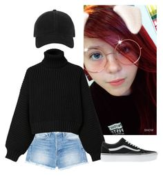 """""""How about I tell you a little about myself?"""" by my-kpop-dream ❤ liked on Polyvore featuring Frame, Diesel, rag & bone, Vans and OnlyOnOccasion"""