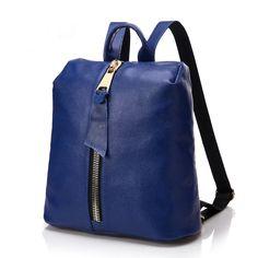 2016 nuevo bolsas de piel auténtico para niñas mochila de moda de buena calidad barato [SD91043] - €53.07 : bzbolsos.com, comprar bolsos online