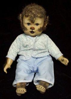 Zombie Baby Werewolf  Doll Horror Halloween Haunted House Horror Prop