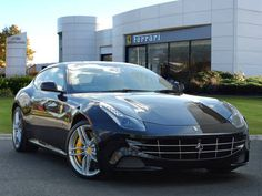 Used 2014 ( reg) Black Ferrari FF for sale on RAC Cars
