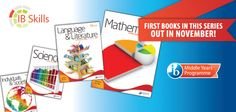 IB banner for new MYP books in the IB store - done with the International Baccalaureate