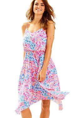 cf184884e05def Dominica Handkerchief Hem Dress | Lilly Pulitzer Jamaica Outfits, Resort  Wear For Women, Lilly
