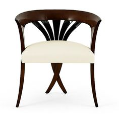 Lex a mahogany occasional chair, Christopher Guy