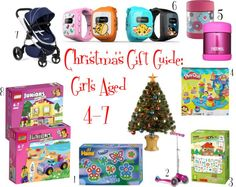 Christmas Gift Guide: Girls Age 4-7