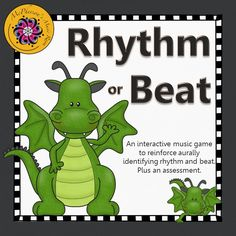Do you hear rhythm or just the beat?  Your elementary music students will be listening closely in order to watch the dragon dance!!  Fun music resource!
