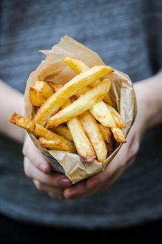 The perfect home made fries | insimoneskitchen.com