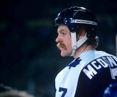Lanny McDonald, born in Hanna, Alberta was the most popular Leaf player for his first 477 regular season games in the NHL While he was Leaf, he scored 219 goals and had 459 points. Stars Hockey, Ice Hockey, Lanny Mcdonald, Maple Leafs Hockey, Hockey Rules, Good Old Times, Sport Icon, National Hockey League, Toronto Maple Leafs