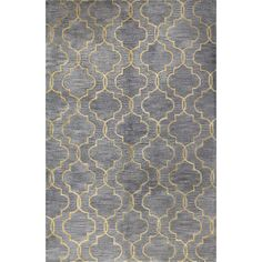 Found it at Joss & Main - Foster Grey Geometric Wool Hand-Tufted Area Rug