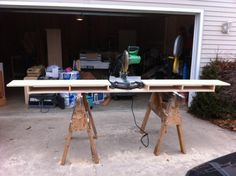 Make a Miter Saw Work Station: Part 1 | THISisCarpentry