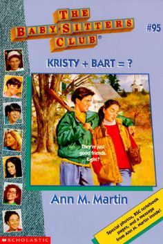 The Baby-Sitters Club #95 Kristy + Bart=?