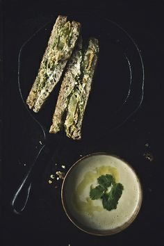 Grilled Goat Cheese Sandwiches with Fried Green Tomatoes and Cashew Relish