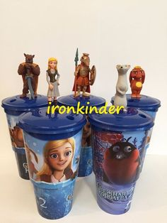 The Snow Queen 2 Full set Cinema Movie Figure Topper + Cup  | eBay