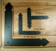 Rustic Brackets and Straps for Doors and Gates