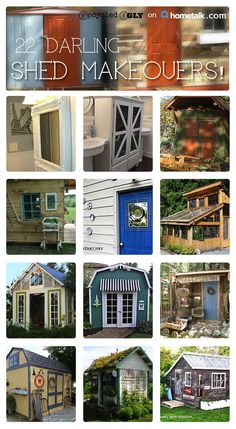 Incredible shed makeovers!