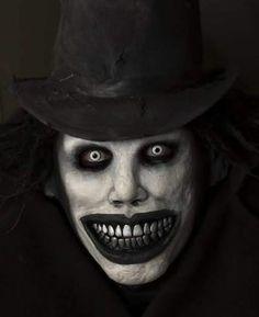 Babadook Scary Halloween Costumes, Halloween Looks, Halloween Horror, Halloween Makeup, Creepy Images, Creepy Art, Creepy Dolls, Creepy Makeup, Creepy Pictures