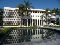 Ambassador College - Los Angeles - Daniel, Mann, Johnson and Mendenhall (DMJM) 1965, 1967, 1975 - Late Modern