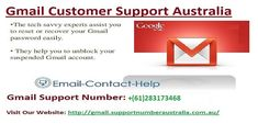 "If any user has any query related to Gmail then you can directly say their problem to our support team of <a href=""http://gmail.supportnumberaustralia.com.au/"" target=""blank"">Gmail Technical Support Number</a> at our Toll-Free no. +(61)283173468 where technicians will answer you shortly."