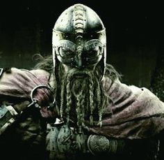 A one mean bad ass Viking, maybe the famous Norwegian King Harald Harðraða Sigurðsson, back in the year 1066, had these great looking features? Or maybe he just looked more bad-ass back then,.