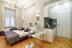 24 square meters studio apartment