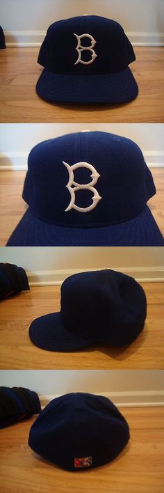 Baseball-Minors 24441: Vtg Brooklyn Dodgers Minor League New Era 7 3 4 Hat Cap 90S Wool Cyclones Rare? -> BUY IT NOW ONLY: $59.99 on eBay!