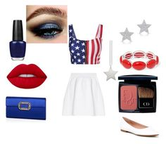"""Stars"" by mayamaya269 ❤ liked on Polyvore featuring malo, Anne Sisteron, BCBGeneration, OPI, Liz Claiborne, Lime Crime, Christian Dior, Roger Vivier and design *by Imre Bergmann"